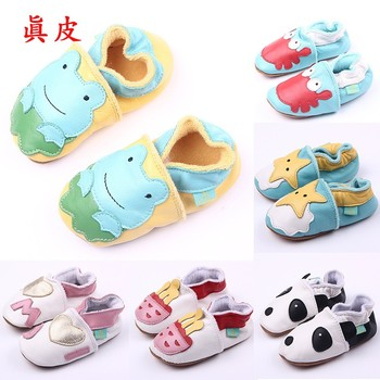 Super quality 1pair Brand Genuine leather First Walkers Baby Shoes,Cheap toddler/Infant/Newborn shoes,antislip Boy/Girl shoes