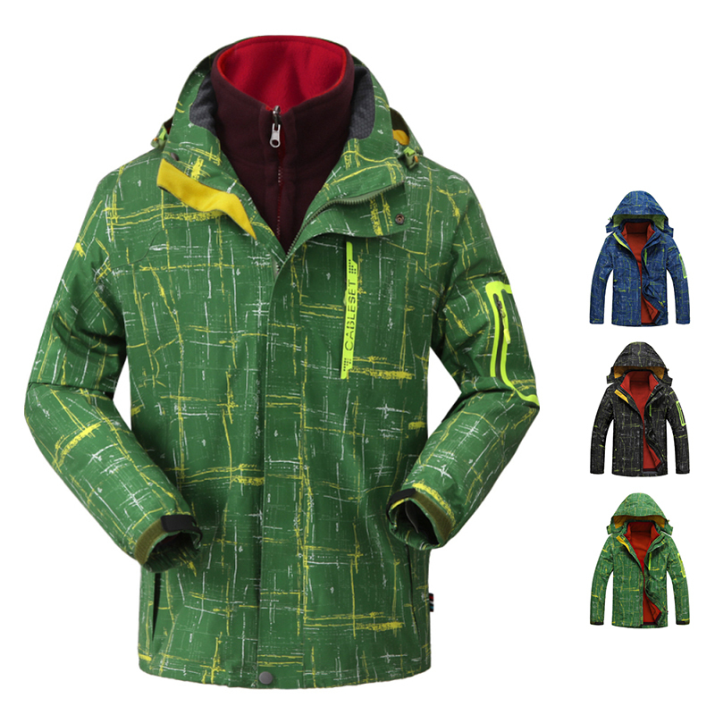 Fashional Outdoors Jacket famous brand 2015 New style man jackets polyester recreation men coatsSize L-4XL.16615 - City Tribe store