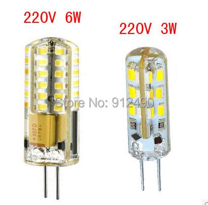 Гаджет  10pcs/ lot High Power SMD3014 3W/6W 220V G4 LED G4 bulb Lamp Replace 30W/60W halogen lamp 360 Beam Angle 2 years warranty! None Свет и освещение