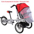 Free Shipping Mosquitos Accessories Stroller of Baby Seat of Bike Windscreen of Mother Baby Stroller Bike