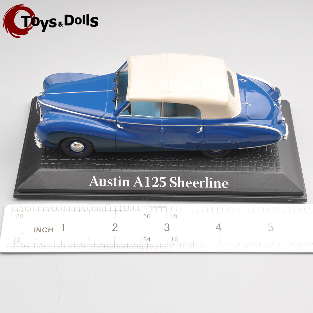 1/43 NOREV Atlas Austin A125 Sheerline 1:43 Scale Model Mini Fashion Blue Diecast Car for Adult Collectors Kids Toys(China (Mainland))