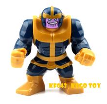 Single Sale Large Minifigures Marvel Super Heroes Avengers Thanos Hulk Venom Ironman Building Blocks Toys compatible with lego(China (Mainland))