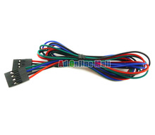 4P 70cm Female to Female Jumper Wire 4P Dupont Cable For 3D Printer For Arduino 20Set/LOT
