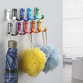 Decorative Aluminum Candy Color Wall Hooks Towel Hanger 9 colors Clothes hanger Metal Towel coat Robe