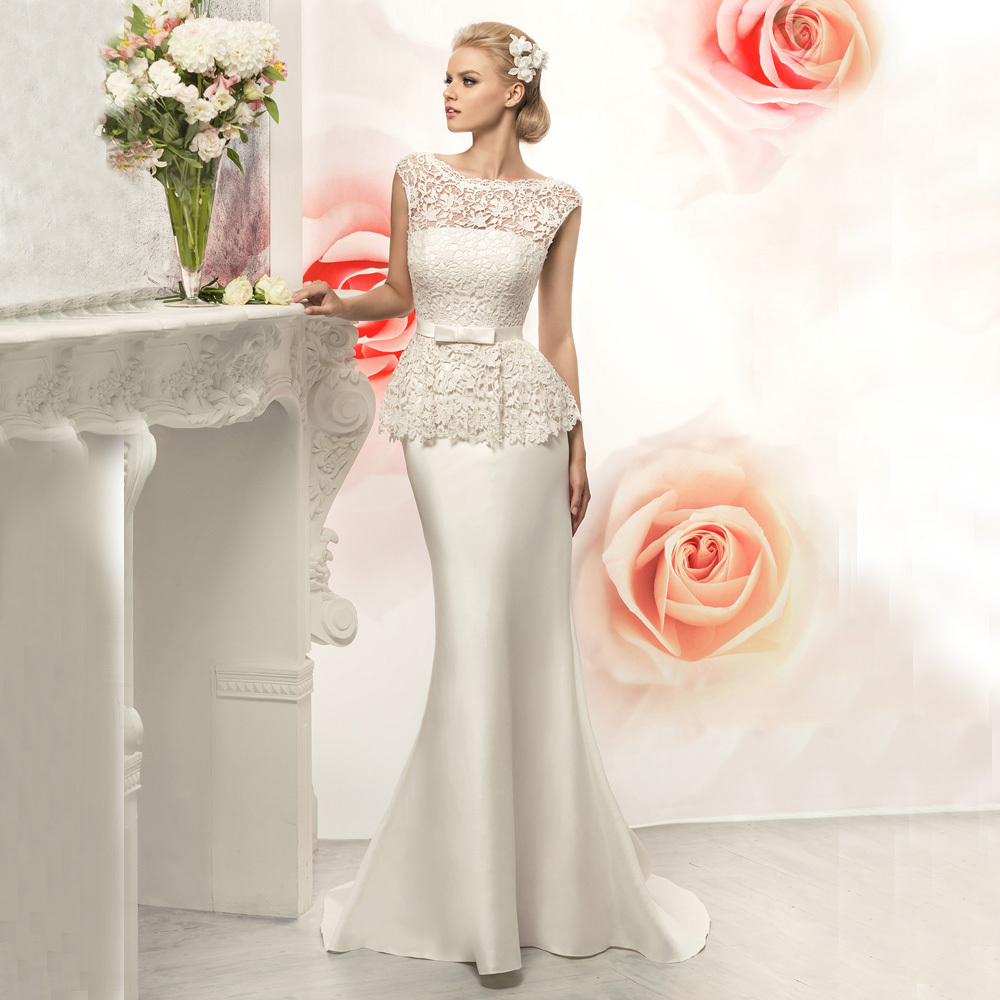 Buy vnaix w3090 customize ivory lace for Backless satin wedding dress