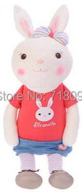"Metoo Plush Toy Bunny Dolls for Valentine Day and Wedding Gifts,24"",1PC"