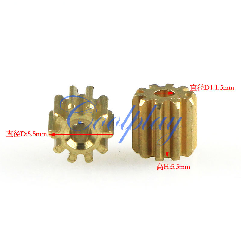 Free Shipping 10pcs/Lots Copper Gear of Main Motor spare parts for MJX F45 F645 2.4G Metal Gyro rc helicopter(China (Mainland))