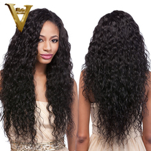 "Glueless Full Lace Human Hair Wigs Wavy Lace Front Wigs Unprocessed Virgin Brazilian Water Wave For Black Women 8-24"" In Stock(China (Mainland))"