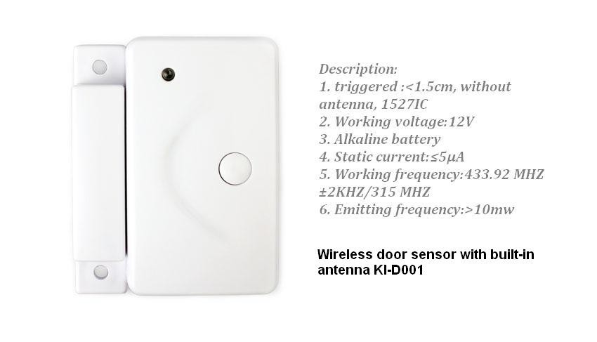 433mhz Wireless GPRS intelligent anti-theft home security wi-fi alarm system smartphone Android IOS APP control