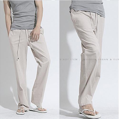 Freeshipping,2014 New Autumn Casual Linen Pants Men,Fashion Brand Male,Dropshipping,&Retail M L XL XXL 3XL - MISS PAOLA store
