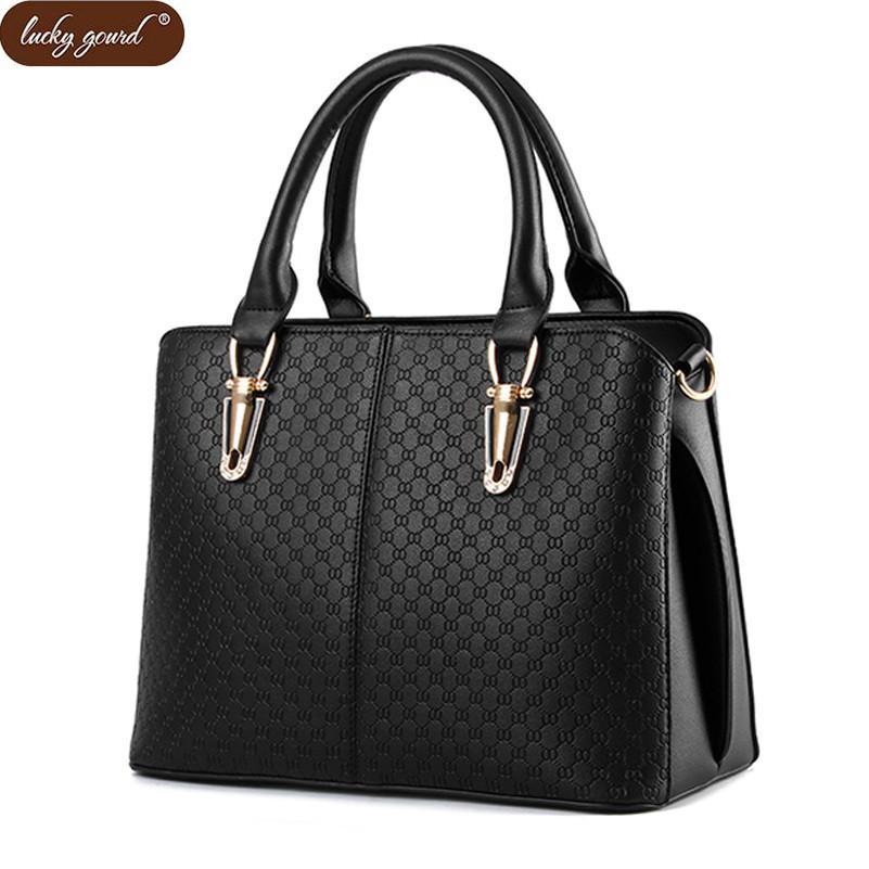 Lucky Gourd Fashion Women Bag Lady Crossbody Bags PU Leather Shoulder Bag Brand Women Messenger Bags Bolsas femininas D044(China (Mainland))