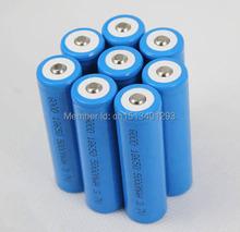 8PCS 5000mAh 3 7V 18650 Li ion Rechargeable Battery for UltraFire LED Flashlight Torch flash light