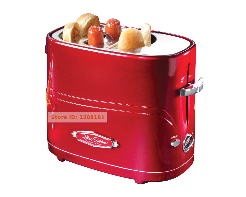 american genuine mini hot dog machine toaster breakfast sausage machine hotdog 220v waffle maker. Black Bedroom Furniture Sets. Home Design Ideas