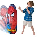 Kids Fun Stand Up punching Bag Inflatable Spiderman Child Tumbler Pressure Release Toys Inflated Boxing Children