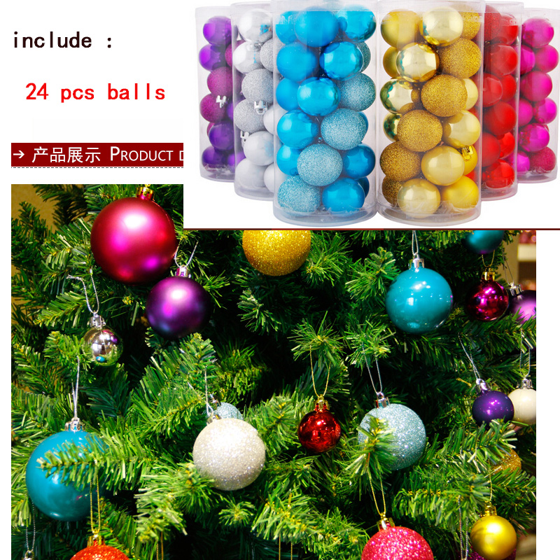 Christmas ball pcs lot trees decorations for
