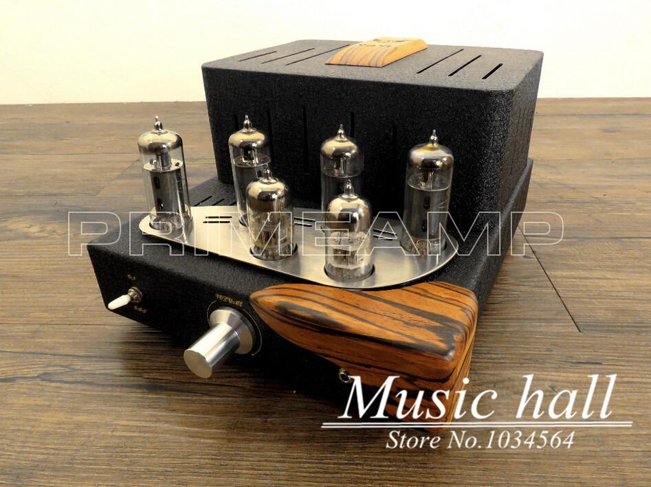 Music Angel MENG MINI 6P1 6AQ5 Push-Pull Valve Headphone AMP Integrated Tube Amplifier110~240V(China (Mainland))