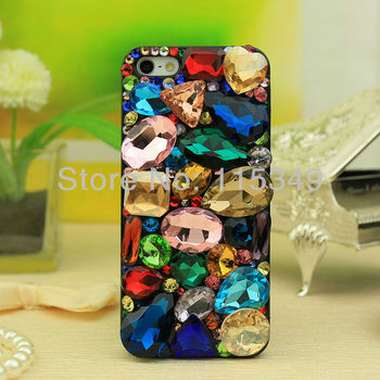 New Hard cell phone Case Cover for iphone4G/4S,iPhone 5 Free shipping/crystal Rhinestone beling Crystal Diamond wholesale
