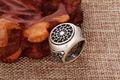 1pcs dropshipping black sun sonnenrad mammen style viking ring scandinavian norse viking jewelry gift for men