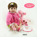 20 Handmade Reality Organic Silicone Girl Like Child reborn babies Rendered Silicone Gift Kids Doll