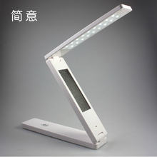 Foldable Folding Touch Controlled Table Night Reading Light 24 LED Desk Lamp,Night Lights,Table Lamps,Study Lighting A124(China (Mainland))