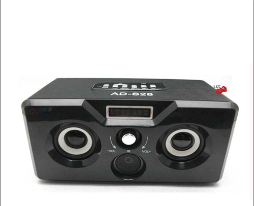 The new brand quality goods small speakers A portable remote portable outdoor speakers mini card small subwoofer stereo radio(China (Mainland))