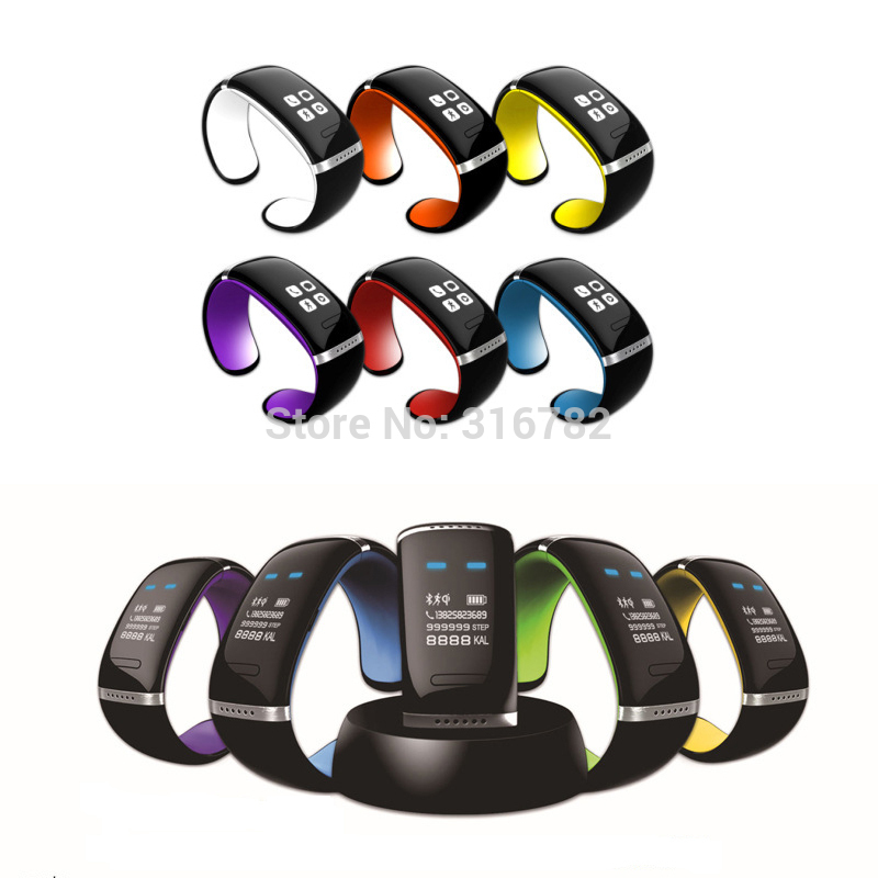 OLED U watch Updating Version Fashion Luxury Bracelet Wrist fashion Bluetooth Smart Watch for Android Mobile Phone Sports Watch(China (Mainland))