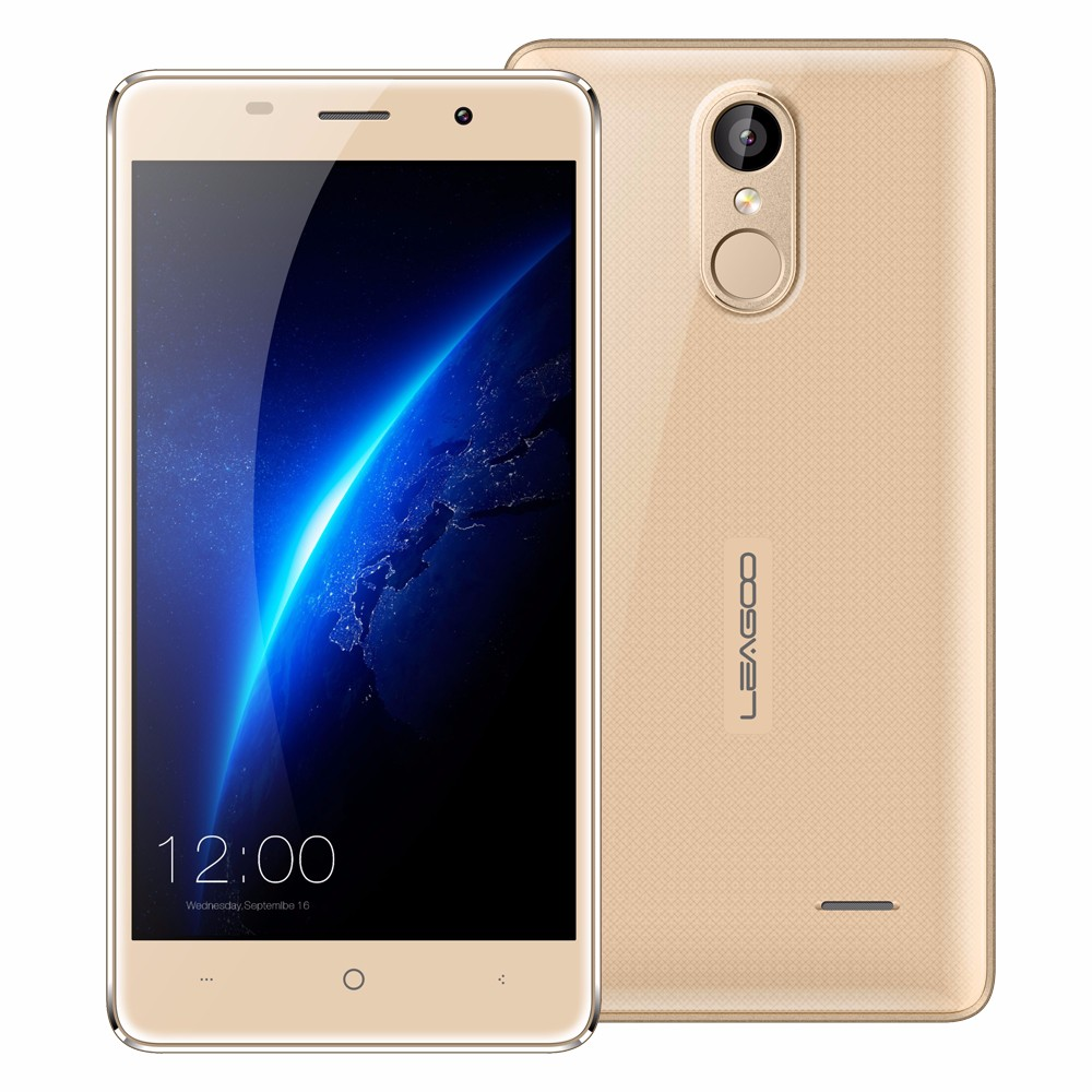 Leagoo M5 Mobile Phone Android 6.0 MT6580 Quad Core 2GB RAM 16GB ROM Smartphone 5.0'' Metal Frame 3G WCDMA 5MP fingerprint phone(China (Mainland))
