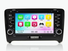 Wince 6.0 MT3360 3G WIFI 1080P Car DVD Player GPS Navigation System Stereo Radio For Audi TT 2006 2007 2008 2009 2010 2011 2012