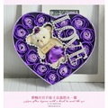 Hot sale low price teddy bear Roses Mix Colors Rose Soap Flower Valentine s Day and