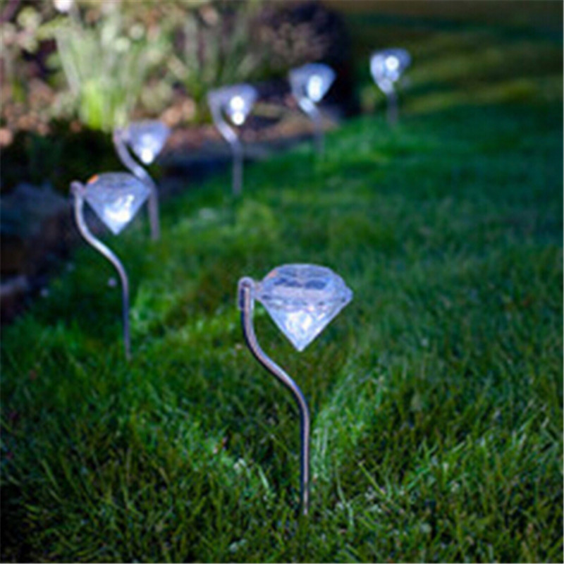 Stainless Solar Lawn Light For Garden Decorative 100 Solar Power Led Solar Light Outdoor Led