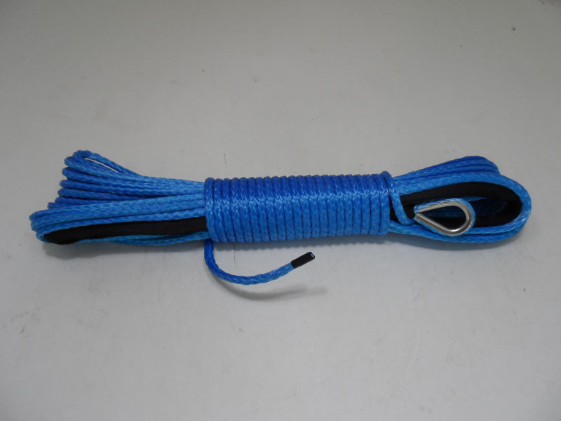 5mm*80ft SK-75 winch line for electric winch,winch rope for sale(China (Mainland))