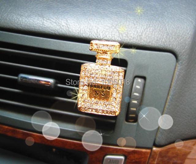 luxury diamond perfumes 100 original car outlet perfume interior car styling ornaments brand. Black Bedroom Furniture Sets. Home Design Ideas