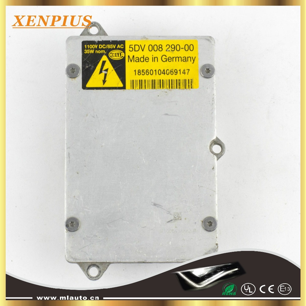 Фотография Hella Xenon HID Ballast OEM Germany  Hella 5DV 008 290-00 Headlight Unit Igniter