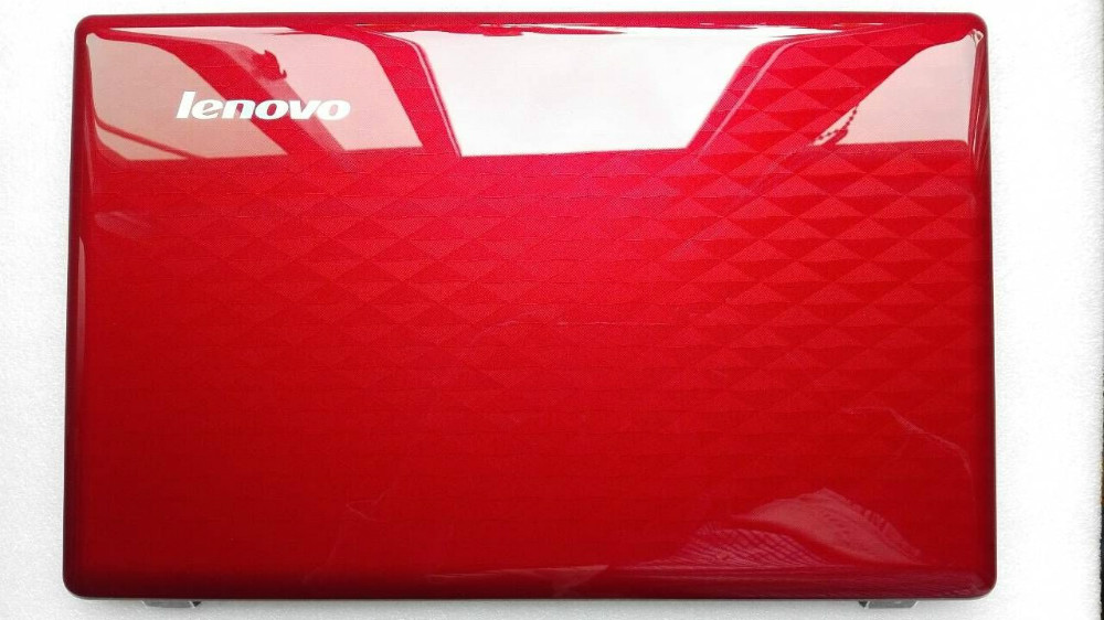 Stock new laptop cover for Lenovo ldeapad Z580 Z585 A case shell red 90200641 back cover(China (Mainland))