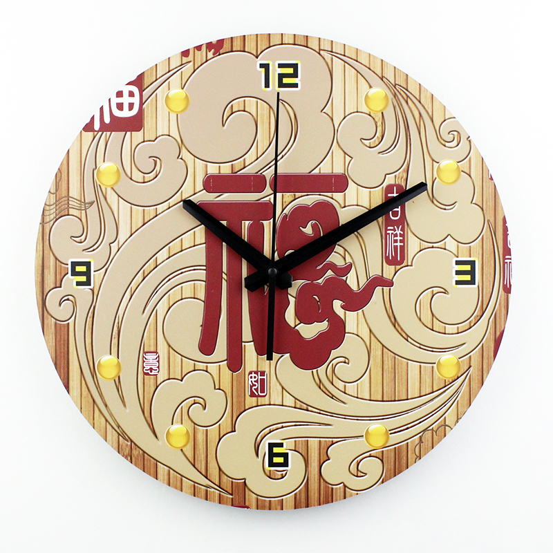 12 inch silent antique Chinese clocks modern design wall clock home decoration living room wall watches unique wall clocks(China (Mainland))