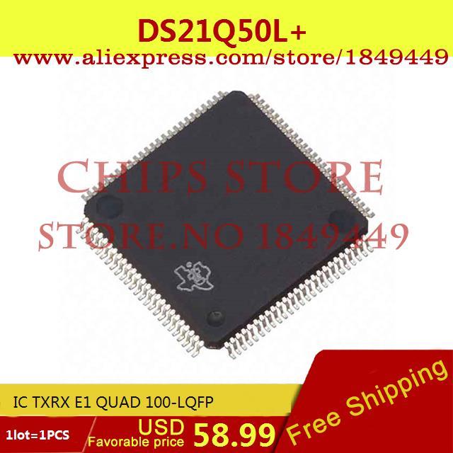 Здесь можно купить  Free Shipping ELectronic DS21Q50L IC TXRX E1 QUAD 100-LQFP 21Q50 DS21Q50 21Q50L 1pcs  Электронные компоненты и материалы