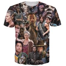 The Walking Dead T-Shirt – Rick Grimes Carl Daryl Michonne Style Tee
