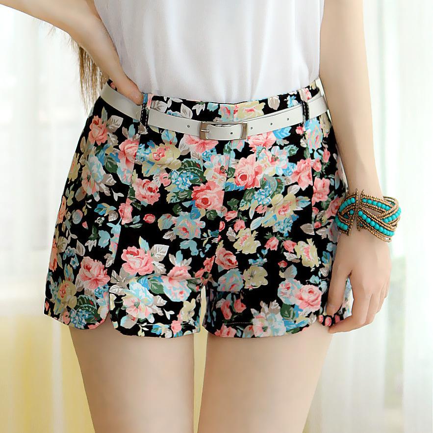 2016 Summer New Fashion Hot Shorts Sweet Lady Lace Embroidery Casual Shorts Women Short Feminino ...