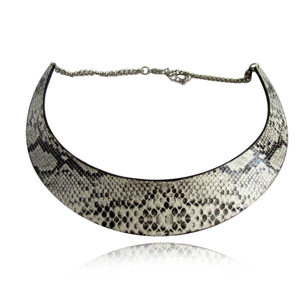 Мода 2014 клеопатра складываемость змея ожерелье коренастый колье Bib заявление ожерелья N742