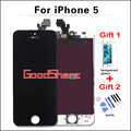 100 Test Good AAA quaility For iPhone 5 LCD Display Screen Digitizer Assembly Replacement Black White