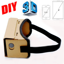 Google Cardboard VR Box DIY VR Virtual Reality 3D Glasses Magnet VR Box Controller 3D VR Glasses for iPhone Android Samsung(China (Mainland))