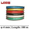 LDDQ 100m 4mm Heat shrink tubing 2 1 Heat Shrink Tube Tubing 600 1000V Low pressure