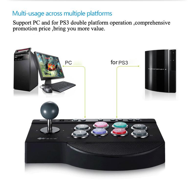 image for Hot Sale 2016 Litestar PXN-00081 Arcade Rocker Game Joystick Compatibl