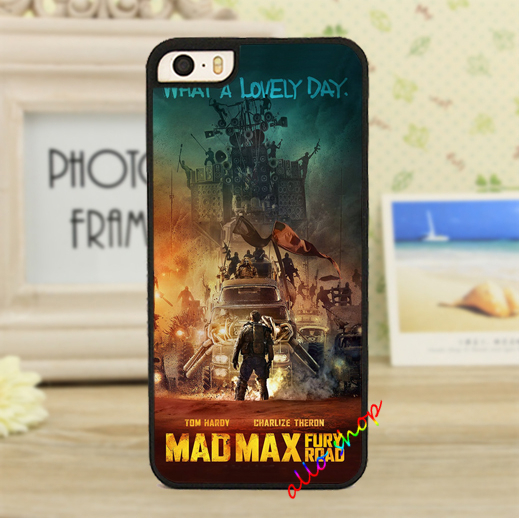 Mad Max Fury Road Movie fashion original cell phone case cover for iphone 4 4S 5 5S 5C 6 6 plus #2579(China (Mainland))