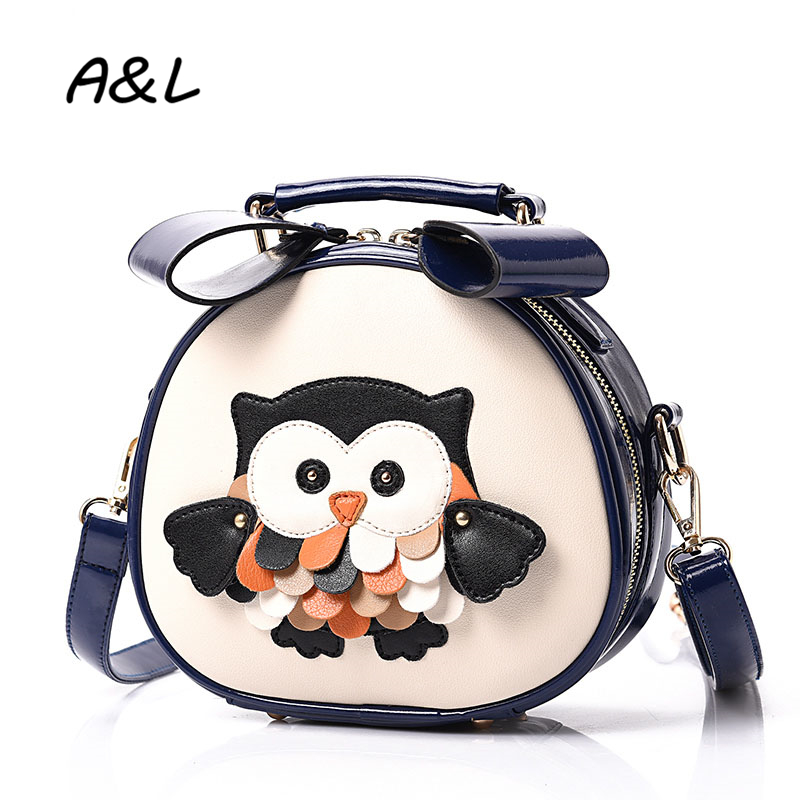 Fashion Casual Women Handbag Luxury Designer Small Crossbody Bag Girl Cute Animal Printing Shoulder Messenger Bag Bolsas A0116(China (Mainland))