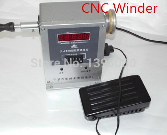 By DHL 1pc JL-2120 CNC Electronic winding machine Electronic winder Electronic Coiling Machine Winding diameter 0.025~0.48mm(China (Mainland))