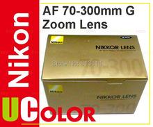 Original New Nikon AF Zoom Nikkor 70-300mm f/4-5.6G Lens (Hong Kong)