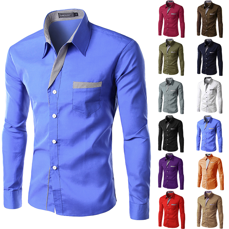 Male shirts designs reviews online shopping male shirts for Mens fashion dress shirts