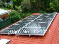 2kW on grid home solar energy system, home solar generaror includes 2000w solar panel and 2kw inverter