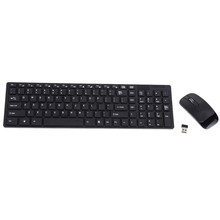Original 2.4G Optical Wireless Keyboard & Mouse USB Receiver& Keypad Film Kit for PC Computer Desktop Laptop Notebook Best Price(China (Mainland))